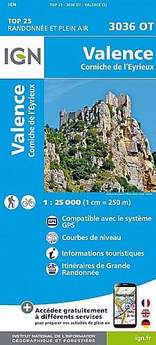 Grenoble - Valence - Cyclotourisme - Visu GPX