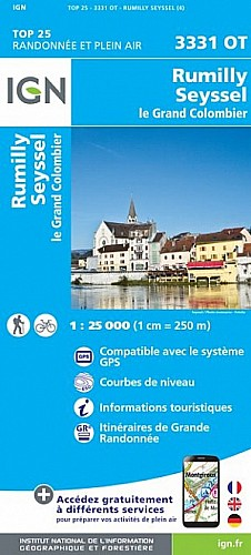 Rumilly Seyssel Le Grand Colombier (3331OT)