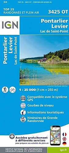 Pontarlier Levier Lac de Saint-Point (3425OT)