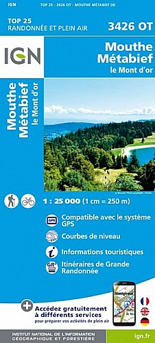 Mouthe Metabief Le Mont d'Or (3426OT)